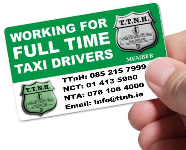 Taxi Union Ireland TTnH